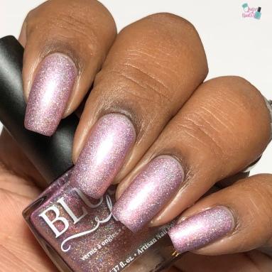 Blush Lacquers - Thistle Bouquet (LE) - w/ matte tc