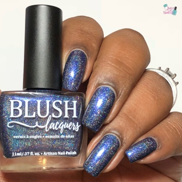 Blush Lacquers - Fireflies Under An Indigo Sky (LE) - w/ glossy tc