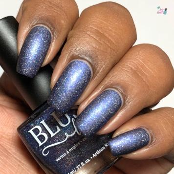 Blush Lacquers - Fireflies Under An Indigo Sky (LE) - w/ matte tc