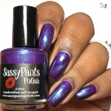 Sassy Pants Polish - Purple Reign (Exclusive) - w/ glossy tc