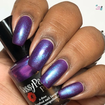 Sassy Pants Polish - Purple Reign (Exclusive) - w/ matte tc