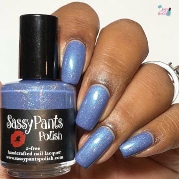 Sassy Pants Polish - When Doves Sigh (LE) - w/ glossy tc