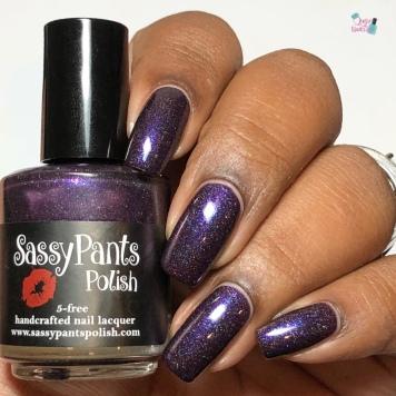 Sassy Pants Polish - Raspberry Soiree (LE) - w/ glossy tc