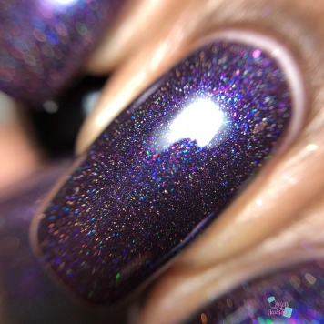 Sassy Pants Polish - Raspberry Soiree (LE) - macro