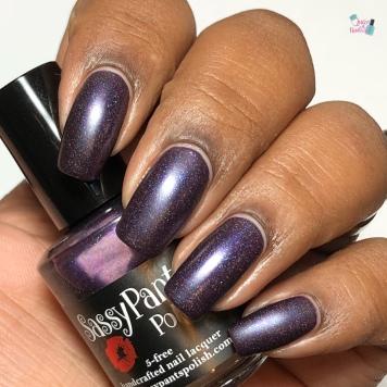 Sassy Pants Polish - Raspberry Soiree (LE) - w/ matte tc