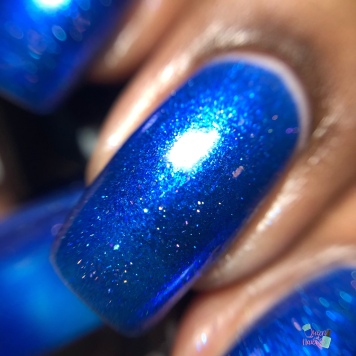 Sassy Pants Polish - Nothing Compares to Blue (LE) - macro