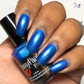 Sassy Pants Polish - Nothing Compares to Blue (LE) - w/ matte tc