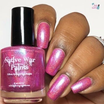 Native War Paints - Pink Skyline (LE) - w/ glossy tc