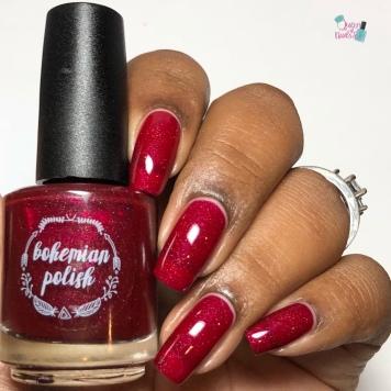 Bohemian Polish - Lingon Me (Exclusive) - w/ glossy tc