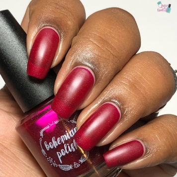 Bohemian Polish - Lingon Me (Exclusive) - w/ matte tc