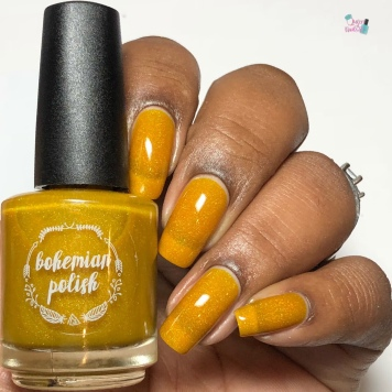 Bohemian Polish - You're A-maize-ing (Exclusive) - w/ glossy tc