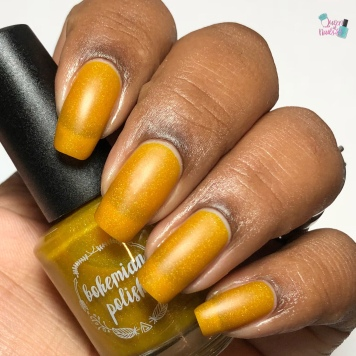 Bohemian Polish - You're A-maize-ing (Exclusive) - w/ matte tc