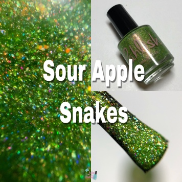 Sour Apple Snakes