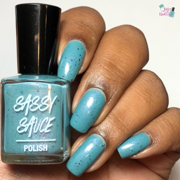 Sassy Sauce Polish - Skippin on the Skyway (Exclusive) - w/ glossy tc