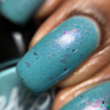 Sassy Sauce Polish - Skippin on the Skyway (Exclusive) - macro