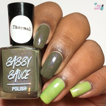 Sassy Sauce Polish - Whole Lotta Lakes (Exclusive) - w/ glossy tc