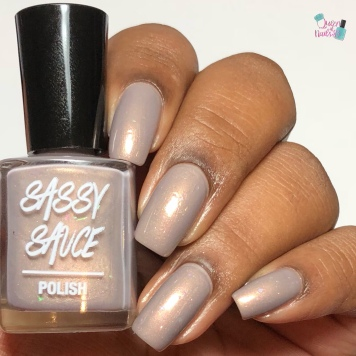 Sassy Sauce Polish - Holy Twine Ball (Exclusive) - w/ glossy tc