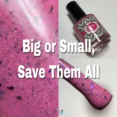 Big or Small, Save Them All