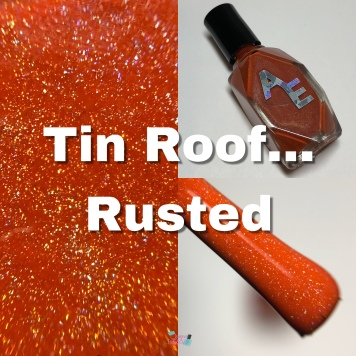 Tin Roof... Rusted