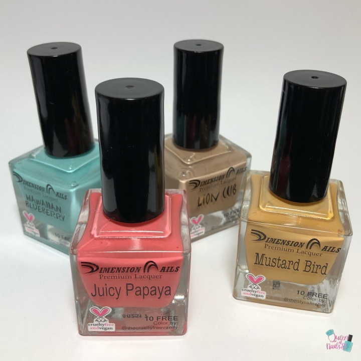 Moore Swatches: Dimension Nails Premium Lacquer