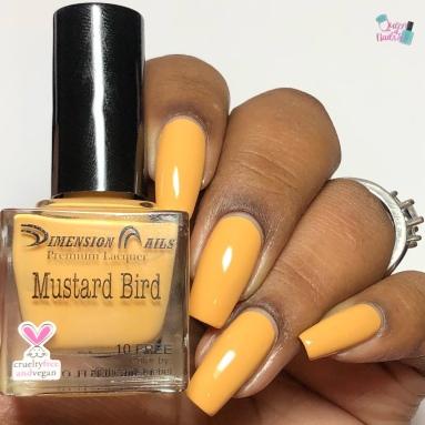 Mustard Bird - w/ glossy tc