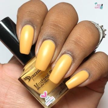 Mustard Bird - w/ matte tc