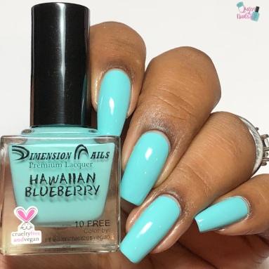 Hawaiian Blueberry - w/ glossy tc