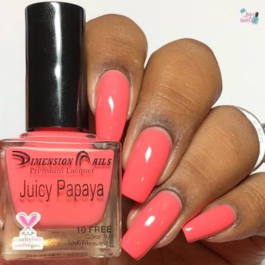 Juicy Papaya - w/ glossy tc