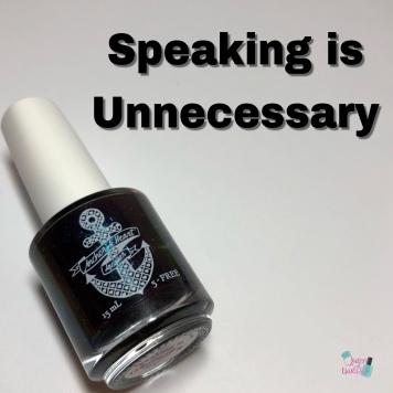 Speaking is Unnecessary