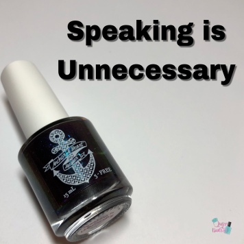 Speaking is Unnecessary