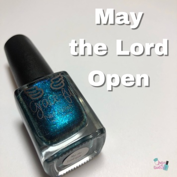 May the Lord Open
