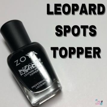 LEOPARD SPOTS TOPPER