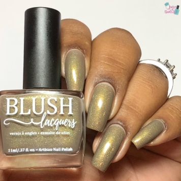 Blush Lacquers - The Moors of Haworth - w/ glossy tc
