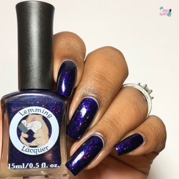 Lemming Lacquer - How A Woman Fights - w/ glossy tc