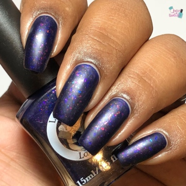 Lemming Lacquer - How A Woman Fights - w/ matte tc