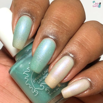 Great Lakes Lacquer - A Caged Bird Sings (T) - w/ matte tc