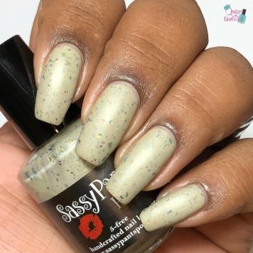 Sassy Pants Polish - #girlboss - w/ matte tc