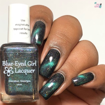 Blue-Eyed Girl Lacquer - Science is Curiosity (M) - w/ glossy tc