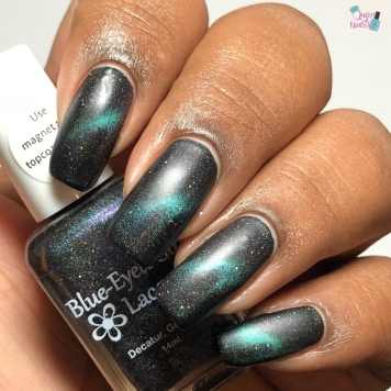 Blue-Eyed Girl Lacquer - Science is Curiosity (M) - w/ matte tc