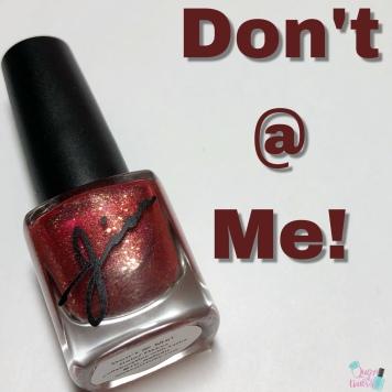 Don't @ Me!