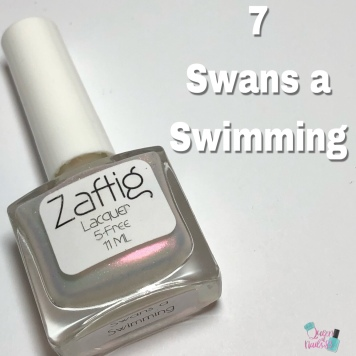 Day 7 - Janice, Zaftig Lacquer: 7 Swans a Swimming
