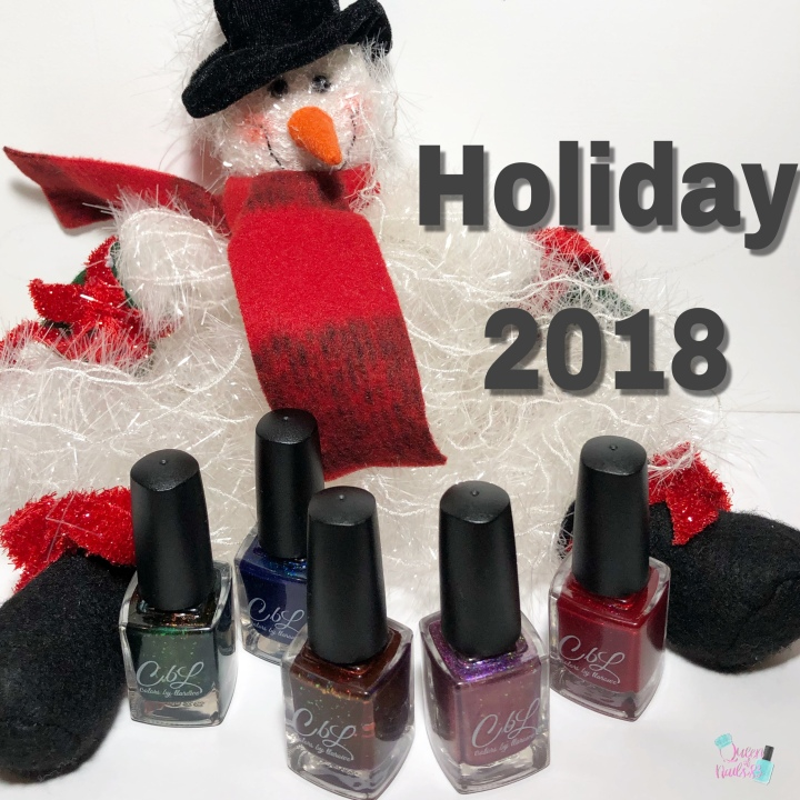 Moore Swatches: Colors by Llarowe (CbL) – Holiday 2018 Collection