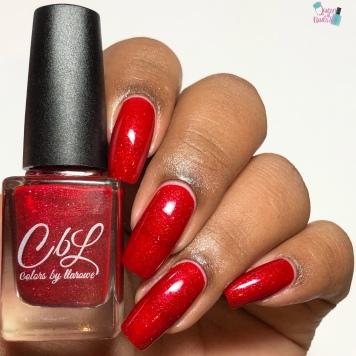 Mistletoe Kisses - w/ glossy tc