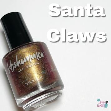 Santa Claws (M) - Charity Polish