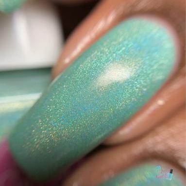 Sea Colored Glasses - macro