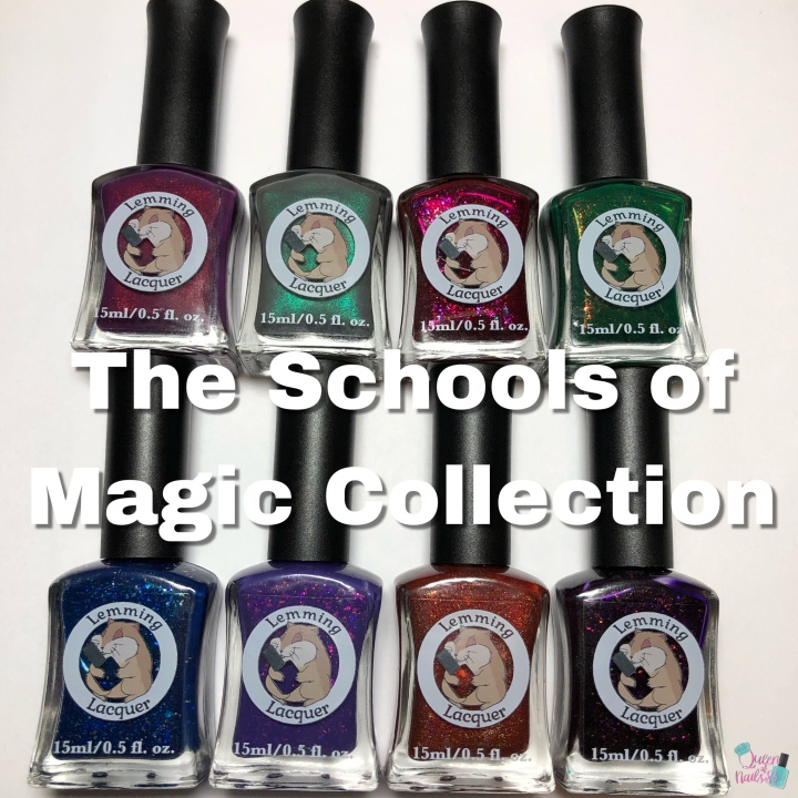 Moore Swatches: Lemming Lacquer – Schools of Magic Collection