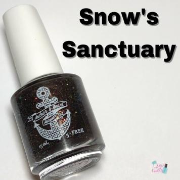 Anchor & Heart Lacquer - Snow's Sanctuary