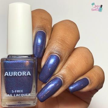 Aurora Nail Lacquer - Nymphony No. 9 - w/ glossy tc