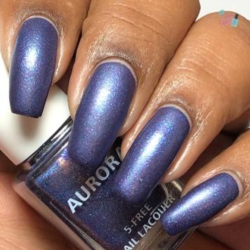 Aurora Nail Lacquer - Nymphony No. 9 - w/ matte tc