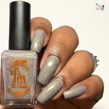 Fair Maiden Polish - Vintage Fairy - w/ glossy tc